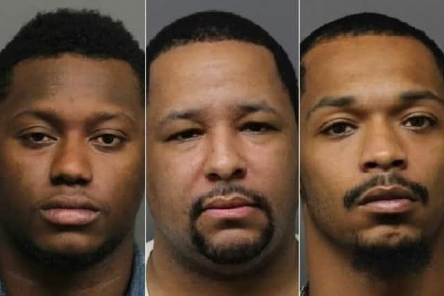 Peter Earle, Antonio Jordan, Leland Robinson Jr.