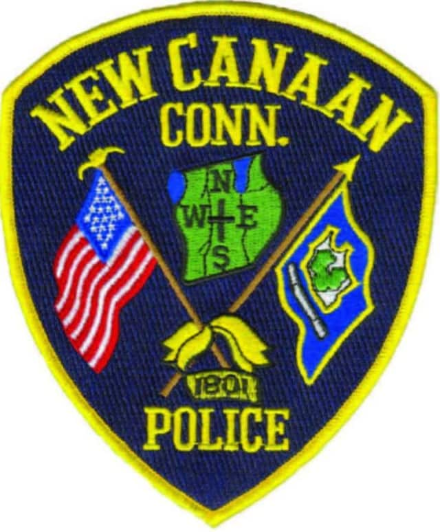 New Canaan police patch