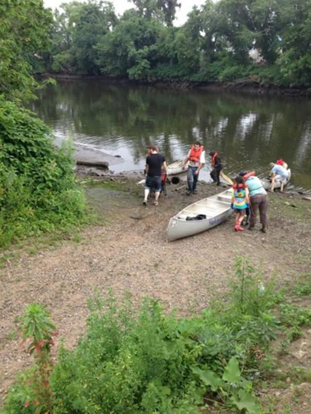 Passaic River Cleanup in Wallington last year.