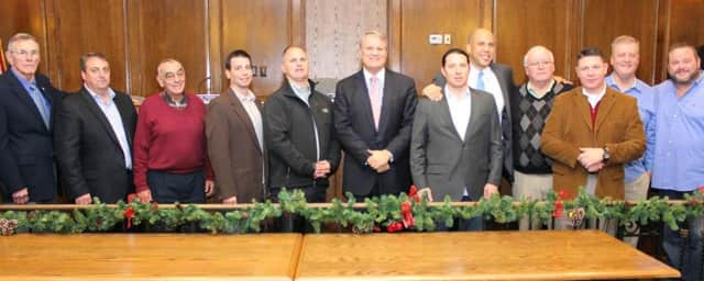 The Old Tappan Council with Sen. Corey Booker.