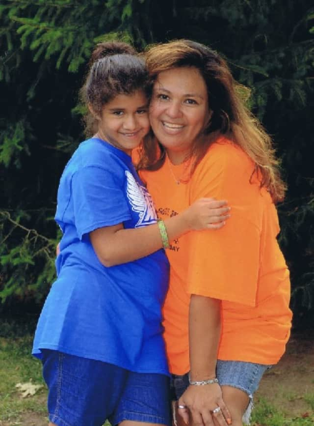Saddle Brook Angels founder Monica Maniscalco, right, and her daughter, Samantha, who has special needs.