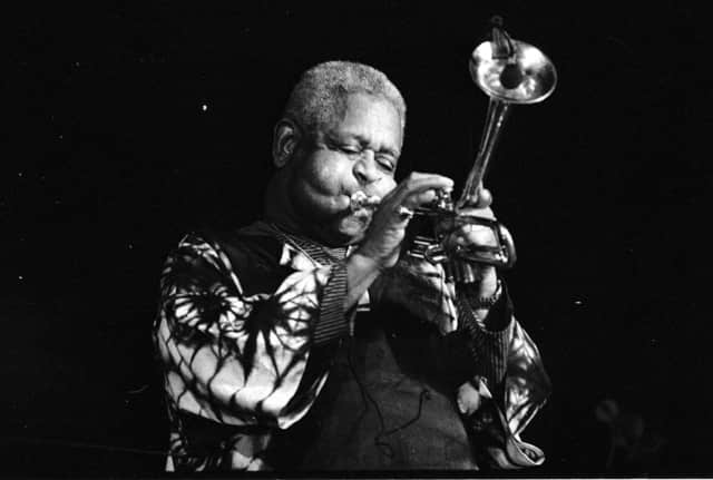 Dizzy Gillespie, of Englewood, would have been 99 this year.