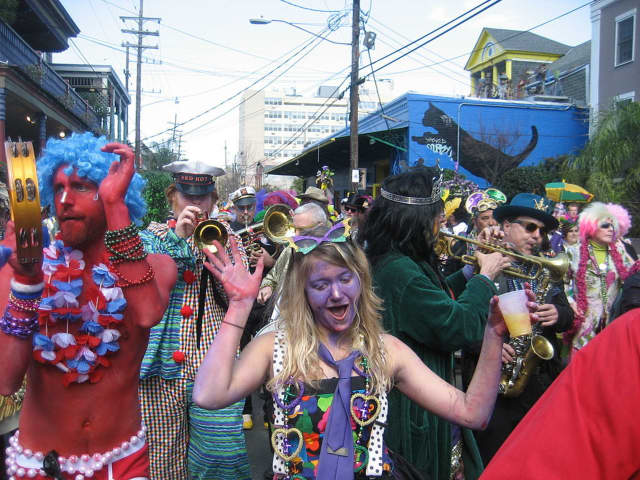 Mardi Gras will be celebrated on Tuesday, Feb. 9.