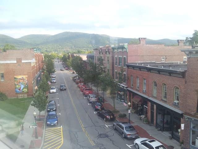 Lower Main Street in Beacon.