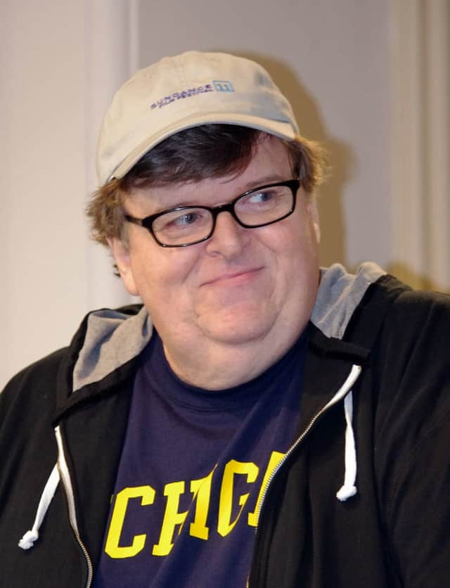 Michael Moore will appear live via Facebook at The Moviehouse in Millerton.