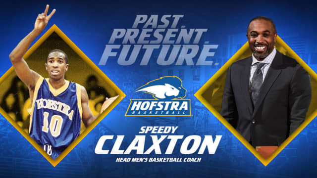 Speedy Claxton is coming home to Hofstra