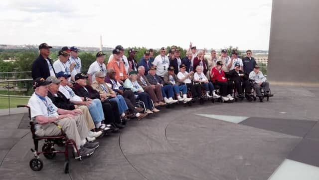 The Honor Flight Network, which recently honored Livio Del Biondo, 90, of Brookfield, works to thank America's veterans.