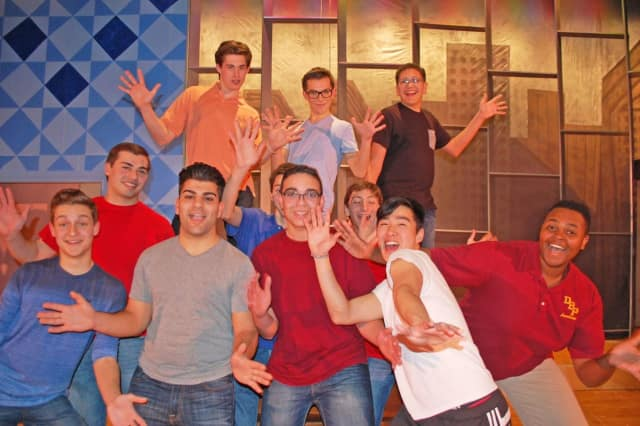 """Students from Don Bosco will perform in """"How To Succeed In Business Without Really Trying"""" Saturday and Sunday."""