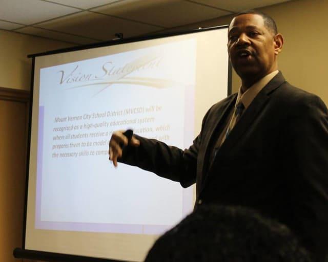 Mount Vernon City School District Superintendent of Schools Kenneth Hamilton