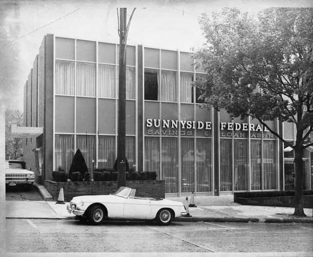 Sunnyside Federal, circa 1965, has been a staple in the community for over 80 years.