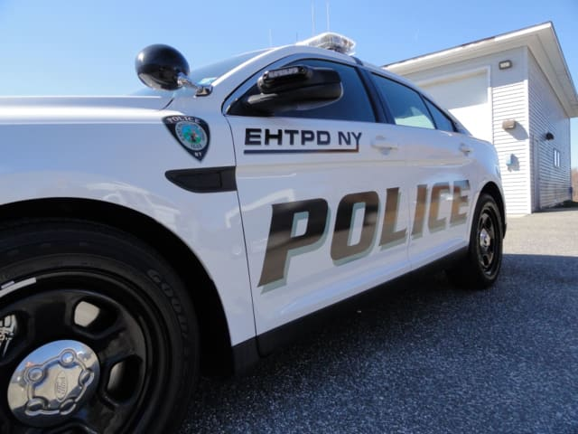 An East Hampton man was arrested for allegedly kidnapping and robbing a woman at gunpoint.