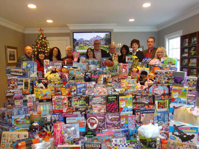 Prominent Properties Sotheby's International Realty's Saddle River Regional office collected 1,059 toys in 2014.