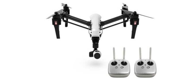 A DJI Inspire Drone