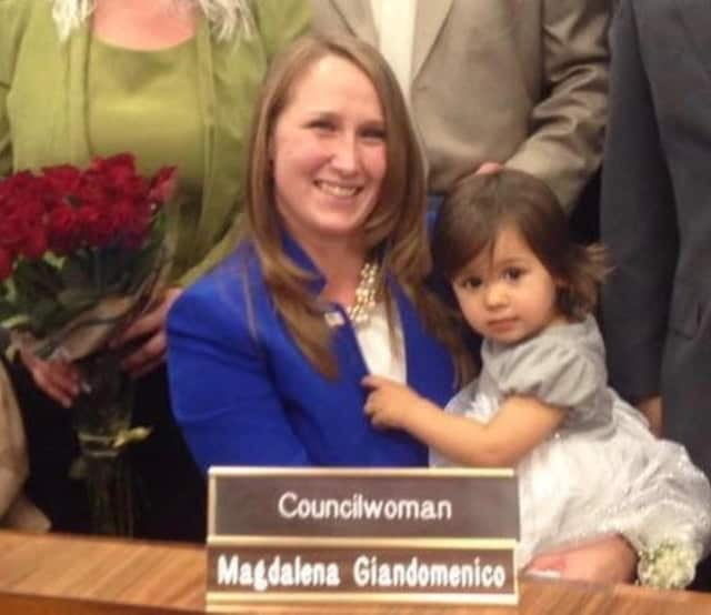 Elmwood Park Council President Magdalena Giandomenico.