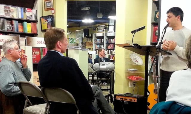 The next meeting of the Pompton Poets in Pompton Lakes will be Dec. 30 with George Pereny, left.