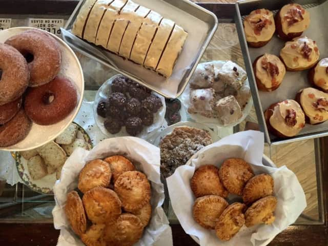 Baked goods from Erie Coffeeshop & Bakery in Rutherford.