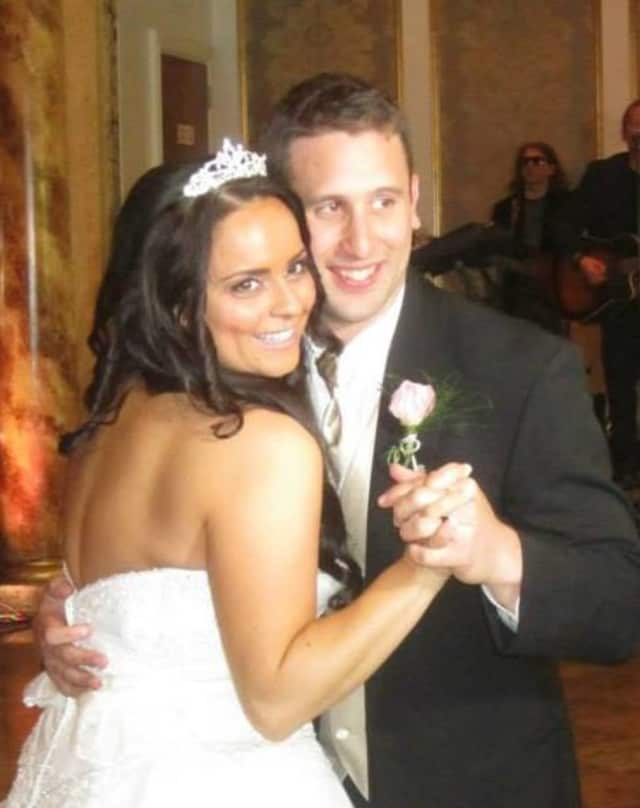 Matt and Jennifer Peters of Mahwah lost their home in a complex fire. They're expecting their first baby in April.