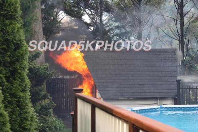 A gas-fed propane tank exploded at a West Islip home, burning one.