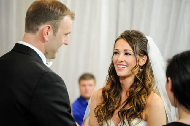 """Jamie Otis and Doug Hehner from """"Married at First Sight."""""""