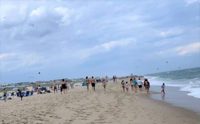 The CDC has offered guidance for beach-goers.