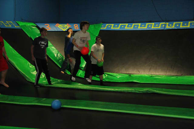 The Hudson Pizza Loft and Bounce! Trampoline Sports will hold a ribbon-cutting event to celebrate the grand opening of the restaurant and the expansion of Bounce! on Feb. 12.