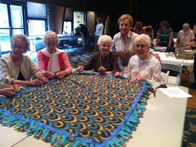 The Bergen County Section of the National Council of Jewish Women invite all to join them for a blanket party Jan. 19 to make fleece blankets for children.