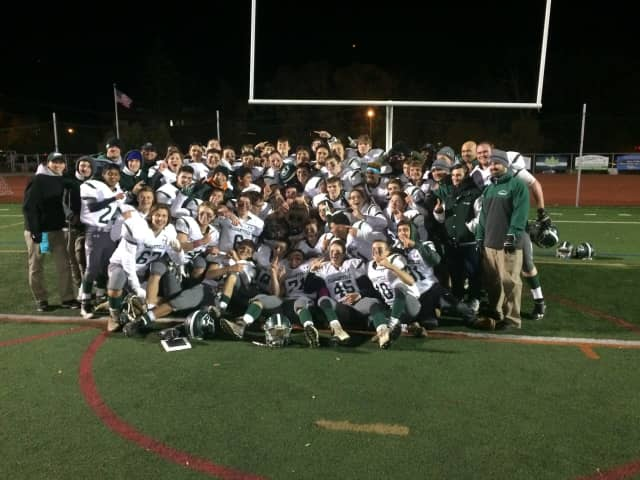 The Pleasantville Panthers advanced to the state semifinals.