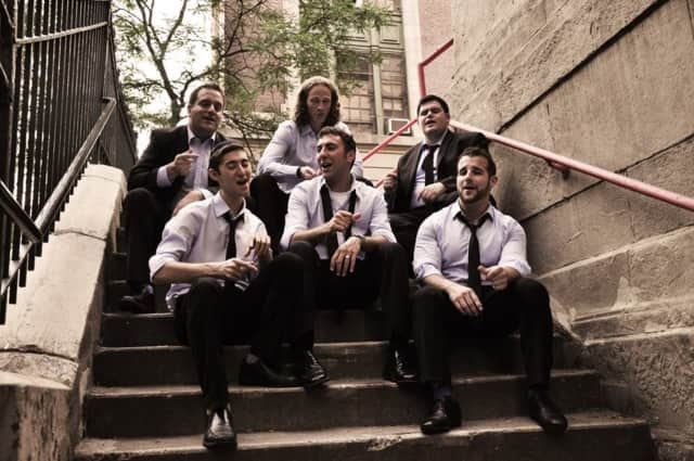 The a cappella group Six13 will perform in Woodcliff Lake Dec. 6.