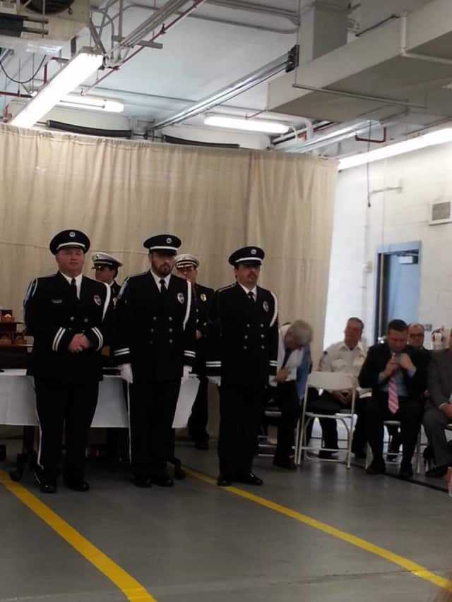 The Stratford EMS Honor Guard graduated its first academy of the new Guard.