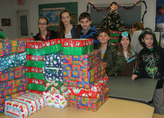First Reformed Church of Saddle Brook will once again host a packing party this November for Operation Christmas Child.