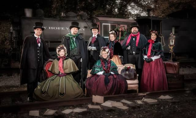 The Victorian Carolers will perform at the Hackensack Tree Lighting Ceremony.