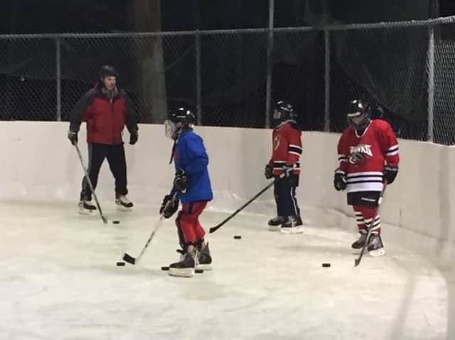 Ringwood youth hockey players
