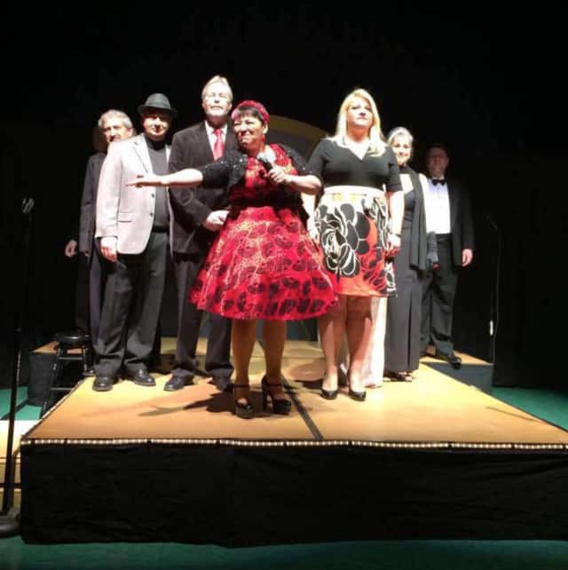 Cabaret performers take the stage for Ringwood's 2015 event.