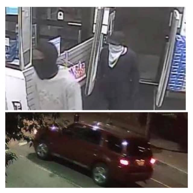 Authorities in Newark are seeking the public's help identifying two men they say carried out a gunpoint robbery at Walgreens in Newark.