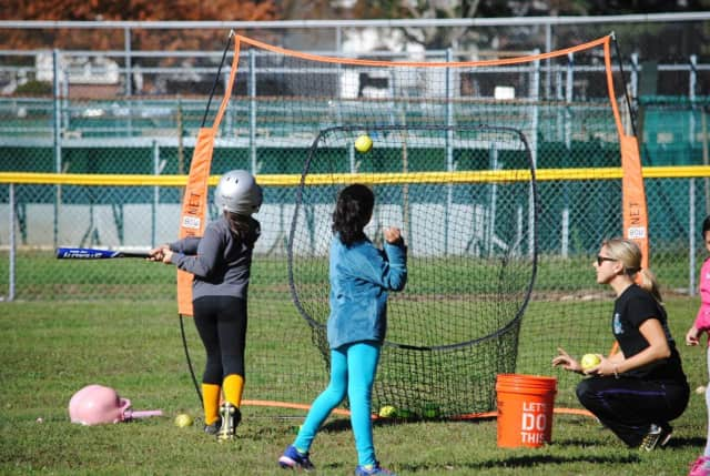 """Teaneck Little Leaguers participated in a """"Pitch Hit & Run"""" competition Sunday."""
