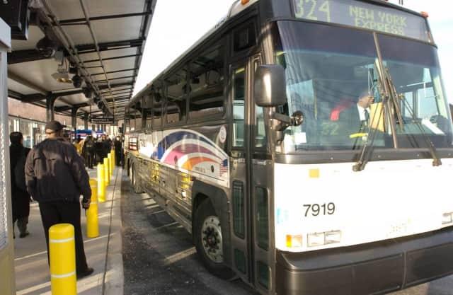 NJ Transit bus.