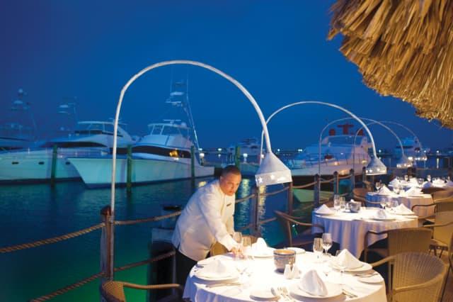 Restaurant La Casita Marina. Courtesy Casa de Campo.