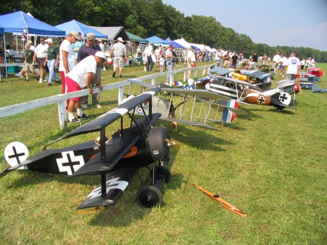 This year's R/C Jamboree at Old Rhinebeck Aerodome recognizes the 50th anniversary of the event with more than 100 model and vintage radio-controlled airplanes.
