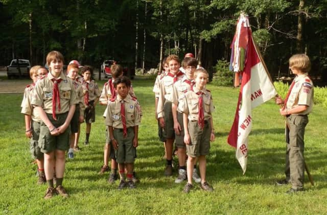 Wanaque Cub Scouts are selling holiday decorations.