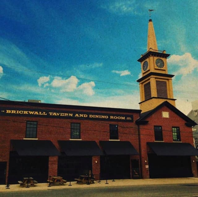 Brickwall Tavern opened in 2015 on East Union Street, in a building that used to be a firehouse.