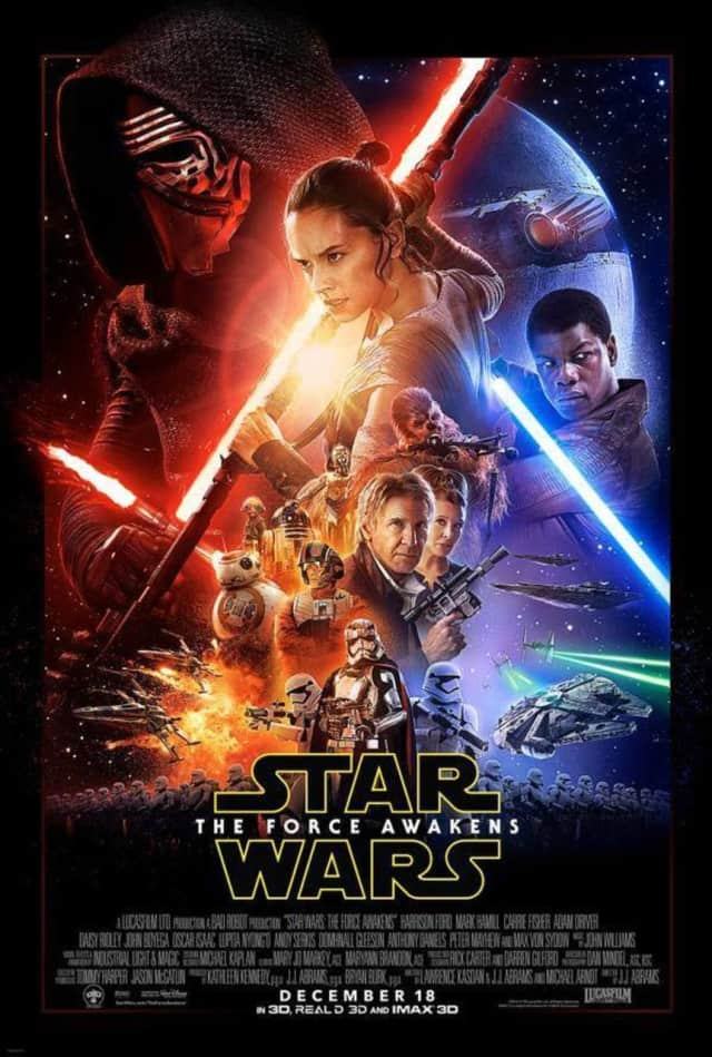 """Star Wars: The Force Awakens"" opens in theaters across Bergen on Thursday."