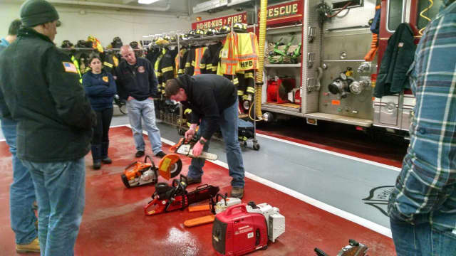 The Ho-Ho-Kus Volunteer Fire Department, in partnership with the Ho-Ho-Kus Fire Department Ladies Auxiliary, will host its annual Open House on Sunday.