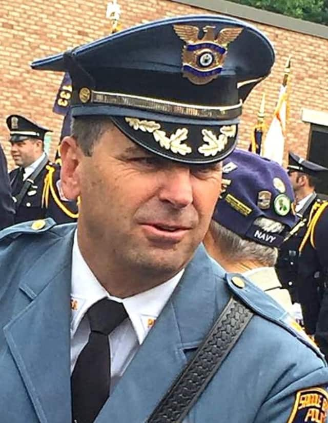 Saddle Brook Police Chief Robert Kugler