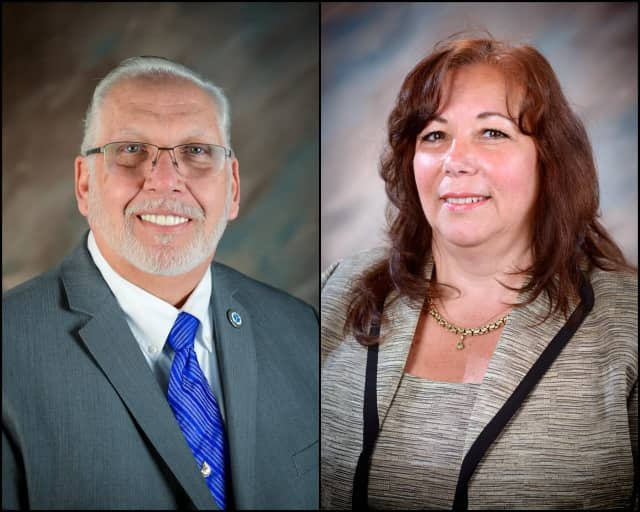 The Yonkers Board of Education unanimously approved the re-election of President Steve Lopez and Vice President Judith Ramos Meier.