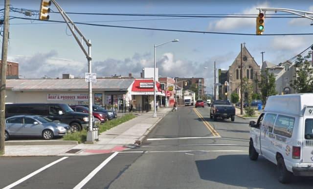 Straight Street near Van Houten Street in Paterson.