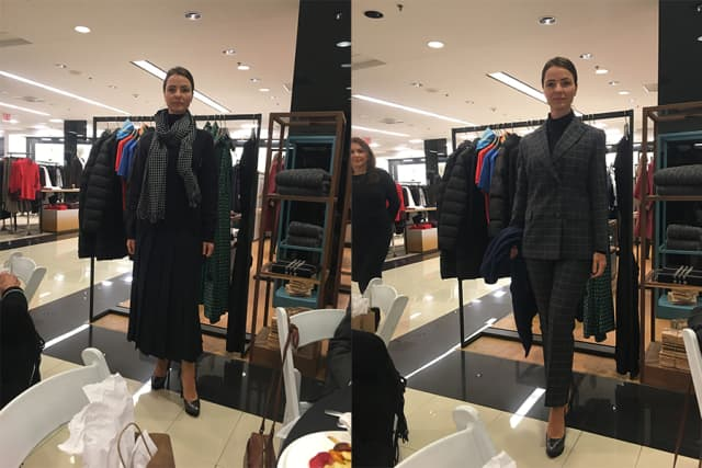 Plaid, layered looks and Max Mara's famed double wool coats headline Weekend Max Mara's fall lineup. Photographs by Georgette Gouveia.