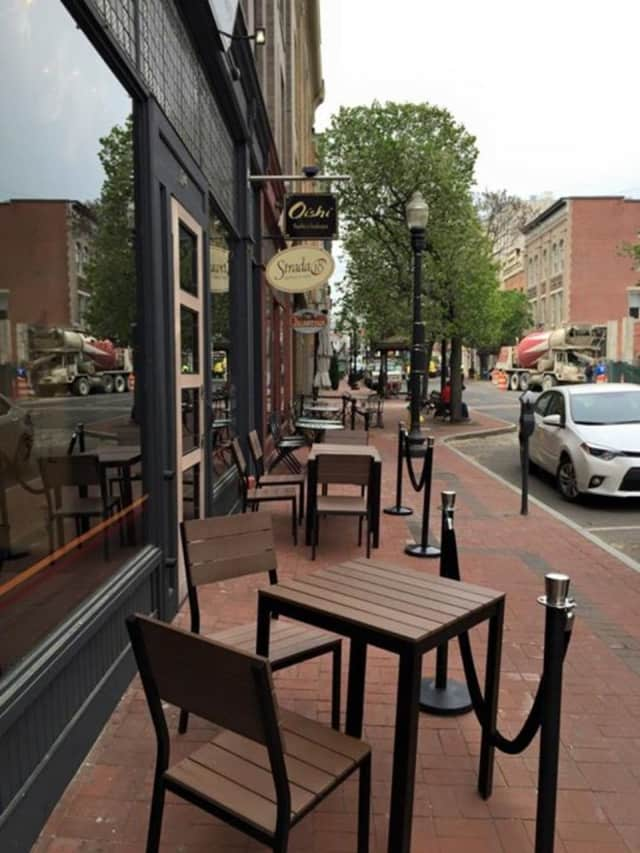 The Norwalk Parking Authority is offering free two- hour parking at the Yankee Doodle Garage to encourage shopping in of Norwalk's downtown.