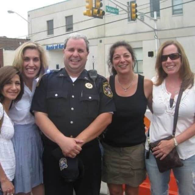 Fort Lee Police Detective Vincent Buda and family.