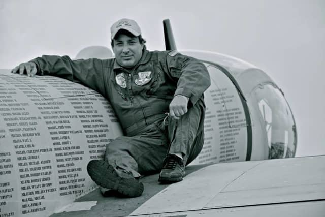 Joseph Masessa took his last ride in his beloved plane on Friday in Florida before the Stuart Air Show.