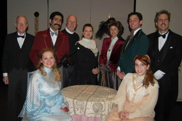 """The cast of """"The Importance of Being Earnest"""""""